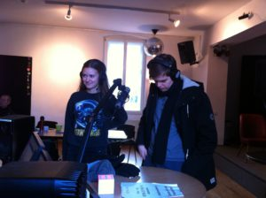 Elena Pulina und Lennard Geibert
